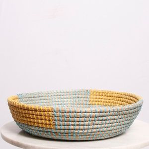 Other - Boho Seagrass Woven Basket Decor